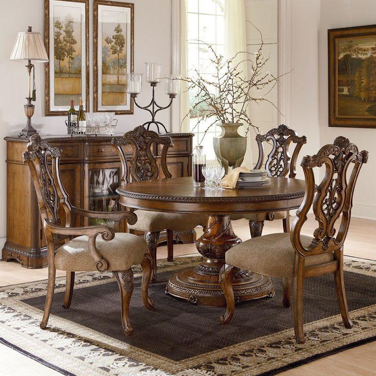 Kiera Rectangular Table W 6 Chairs