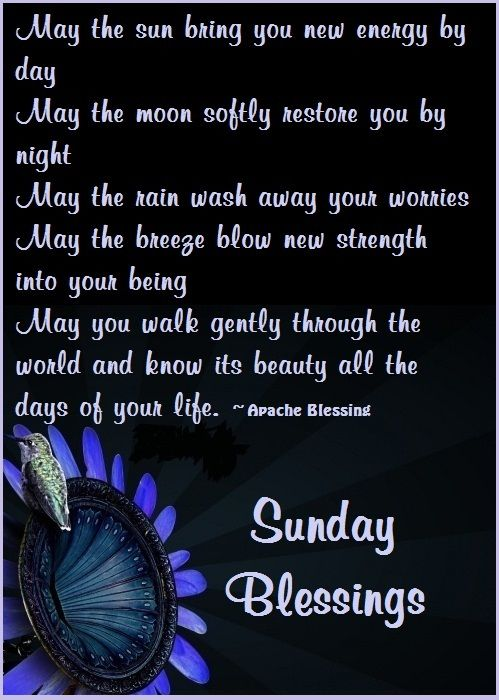 sunday morning bless positive quotes inspiration
