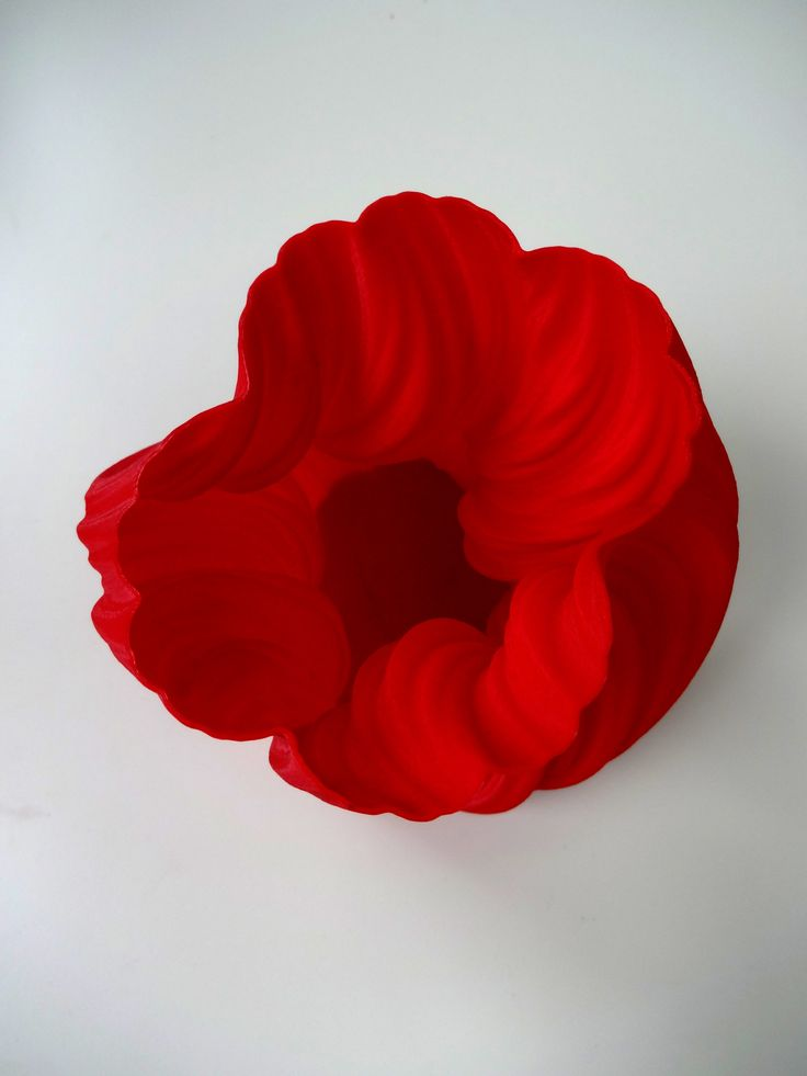 flower-shaped vase #3dprint #3dprinting #pirxprinter
