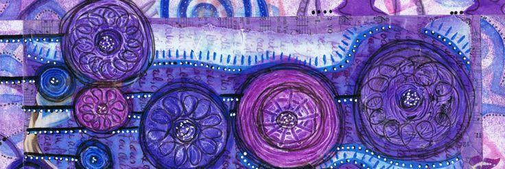 Atelier de Journal Créatif et de Création Intuitive proposant de prendre le temps pour reconnaître les bénédictions de notre vie et de rendre grâce. RÉSUMÉ : Les pierres de gué nous permettent de traverser un cours d'eau sans nous mouiller. Les bénédictions de notre vie nous aident à apprécier davantage les bons moments et à traverser les moments les plus difficiles de notre vie, une pierre à la fois.