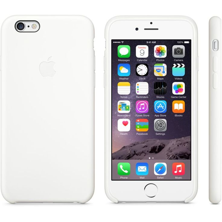 iPhone 6 Silicone Case - White - Apple Store (UK)