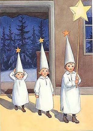 Elsa Beskow (Swedish, 1874–1953)  ~ The Star Boys