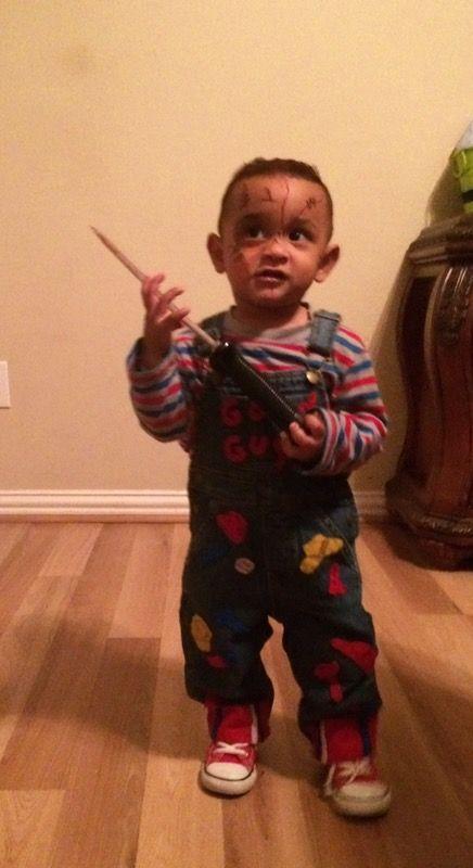 chucky good guys custom made halloween costume baby kids in houston tx - Good Guys Halloween Costumes