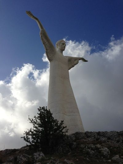 Truly You Life Coaching - My Passion Filled Life! The Christo monument at Maratea, Italy