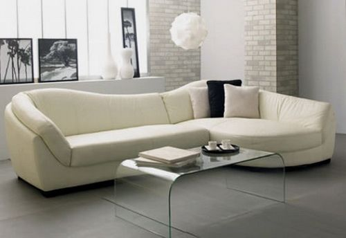 l shaped couch sets with glass table