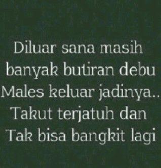 #galau #butirandebu