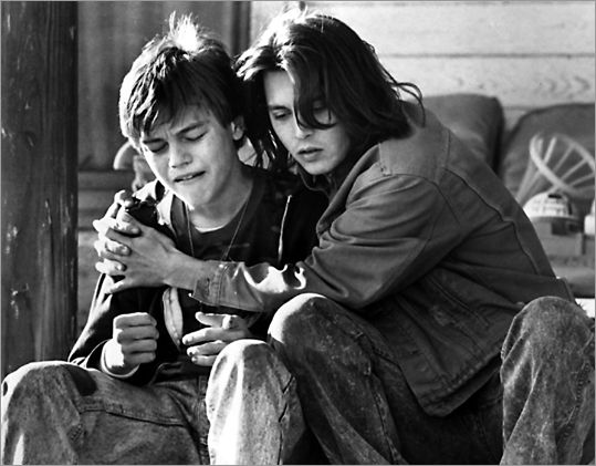 What's Eating Gilbert Grape, 1993. #JohnnyDepp #LeonardoDiCaprio