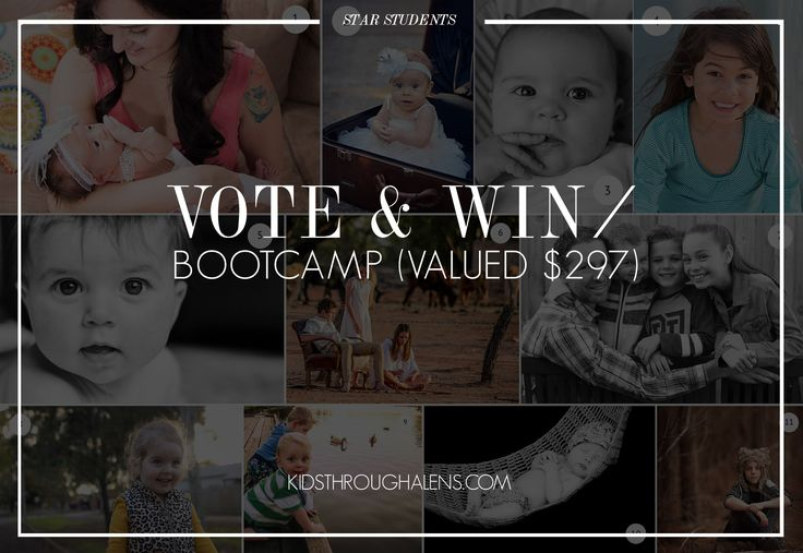 Vote for your favourite student image to win Beginner Bootcamp! http://yourlifethroughalens.com.au/vote-favourite-perfecting-portraits-image-win/