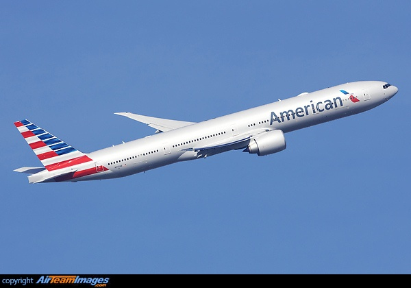 American Airlines have started regular services from Dallas Fort Worth to London Heathrow utilizing their new Boeing 777-300ER aircraft.