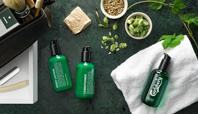 Carlsberg Releases Beer Shampoo For Men | Fashionsnap.com