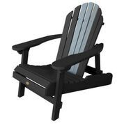 NEW! Two-Tone Hamilton Folding and Reclining Adirondack Chair