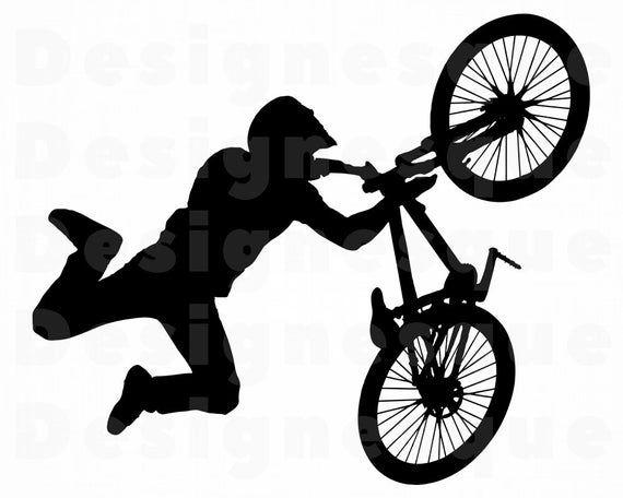 Bmx Svg Bmx Bike Svg Bmx Bicycle Bmx Clipart Bmx Files For Etsy In 2021 Bike Drawing Bike Illustration Bmx Bicycle