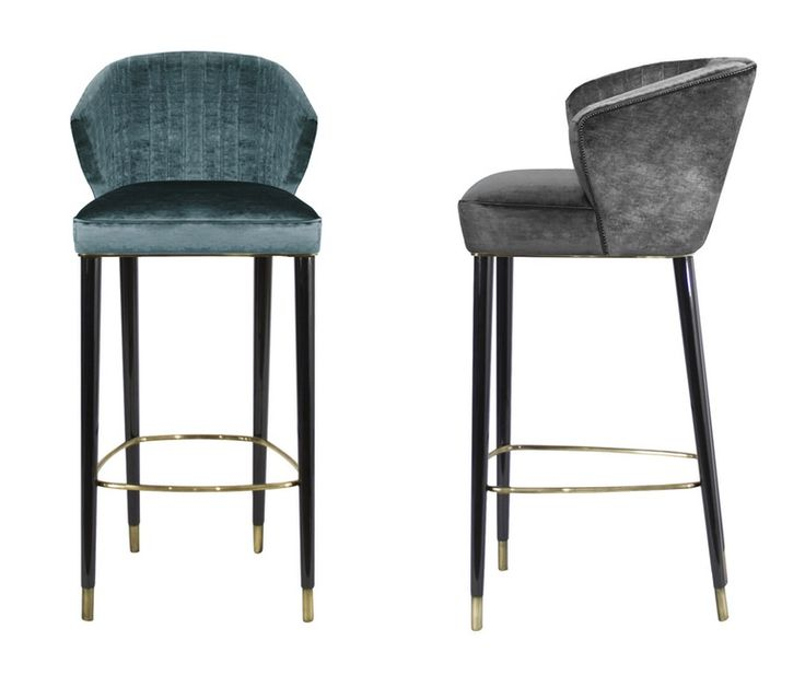 Nuka Bar Chair  Contemporary, MidCentury  Modern, Transitional, Upholstery…