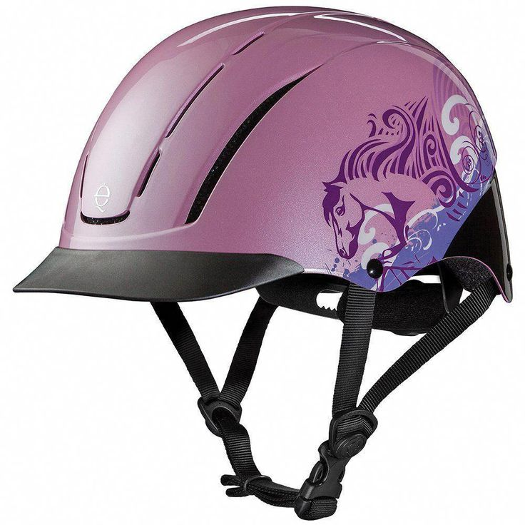 Troxel Spirit Pink Dreamscape Horse Riding Helmet Horse Riding Helmets Riding Helmets Horseback Riding
