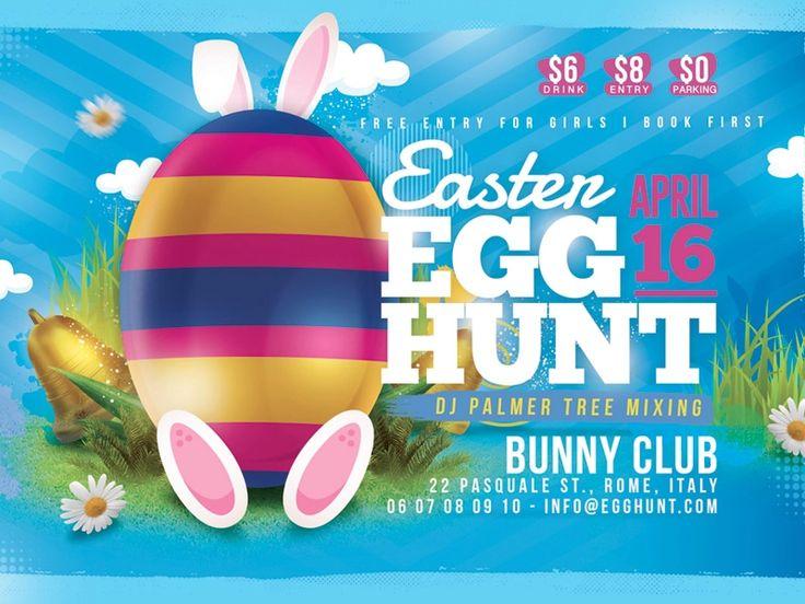 easter egg hunt flyer Google Search in 2020 Easter egg