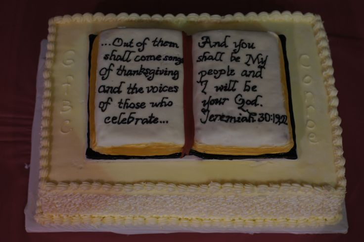 Church Anniversary Cake Images : Church anniversary cake My Graduation and Event Cakes ...