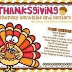 Included is nine activities that can be used as independent work, small group, homework, early finishers or as centers. Some activities include sorting the cards (included) and recording their answers.   What's Included: Word Builder ABC Order How to Catch a Turkey Writing Noun/Adjective/Verb sort Top 10 Thankful List Compare/Contrast Roll and Write Sentences Synonym/Antonym Sort Turkey Disguise Craft & Writing   Click Preview!