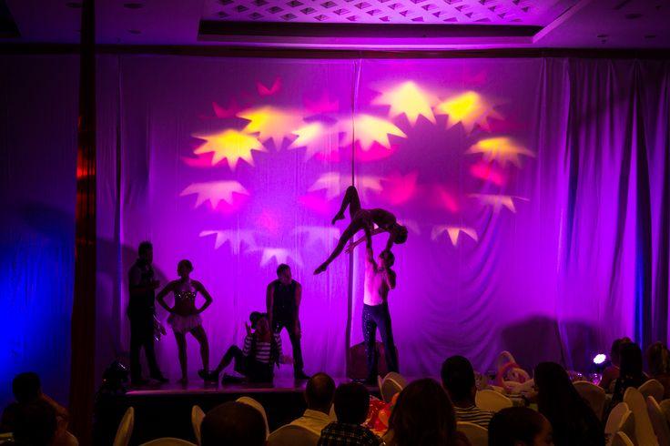Incredible Circo Show at #GrandVelas #RivieraNayarit!
