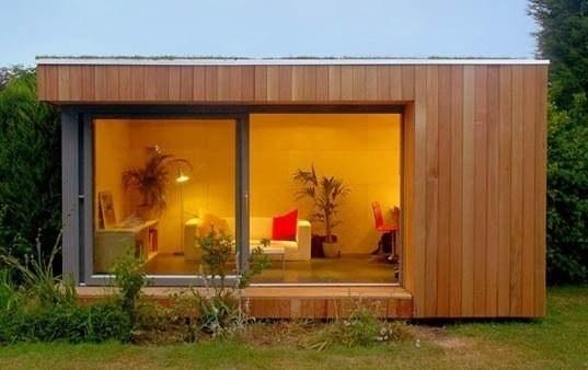 .: Garden Office, Garden Sheds, Gardens, Backyard Studio, Modern Shed, Modern Garden, Design