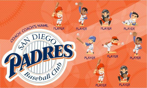 Custom little league banners, baseball team pennants,major league baseball banners at Teamsportbanners.com