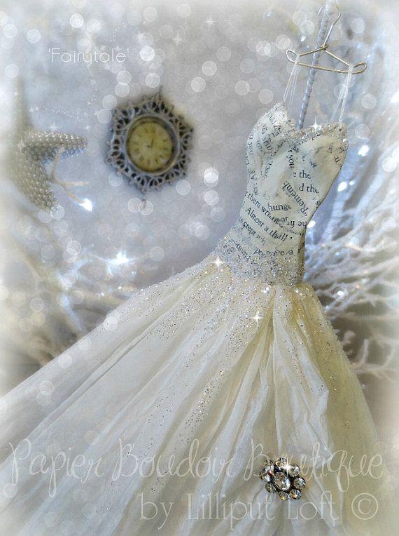 Papier Boudoir Boutique Fairytale miniature paper by lilliputloft