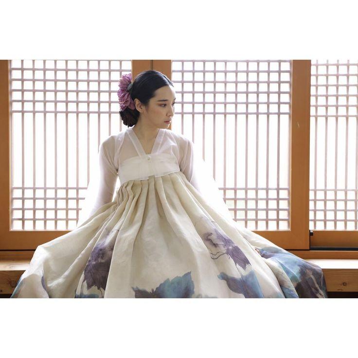 #dress #sewinglandscape #hanbok #바느질풍경 #한복 #김복희