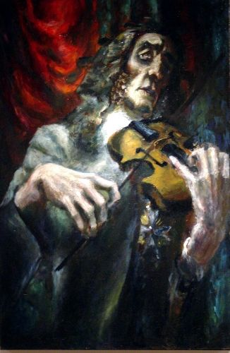He appeared to be from another world. Many people were convinced that he was in league with the #devil. #Paganini #Violin http://amzn.to/Ri7TR5