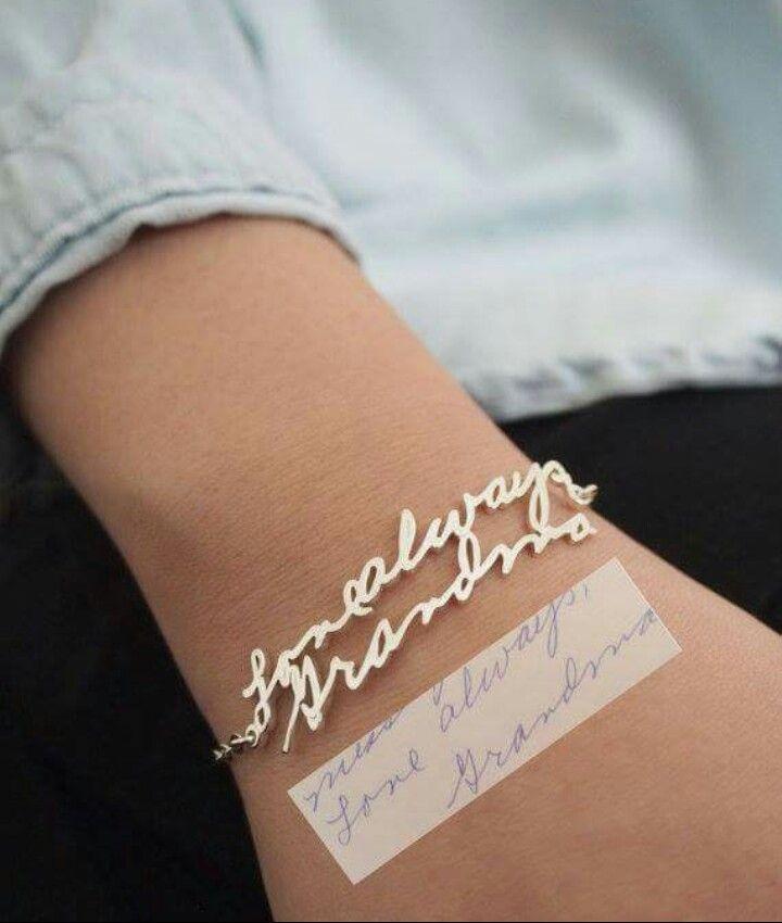 Grandma's signature
