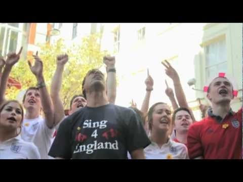Chris Kamara - Sing 4 England (ft. Joe Public Utd) OFFICIAL ENGLAND EURO 2012 SONG