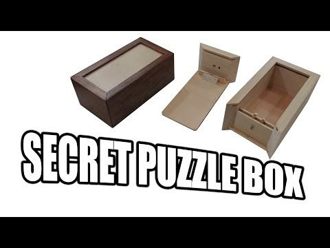 How to Build a Secret Compartment Box / Puzzle Box - YouTube