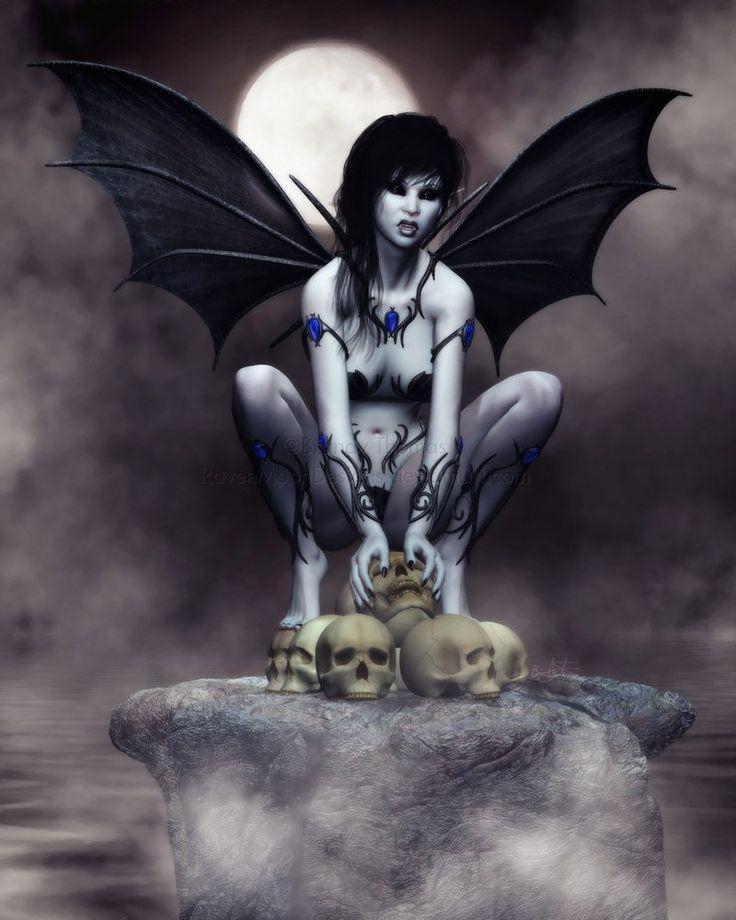 Unseelie - the Unblessed Fae | Demon Fae | Pinterest