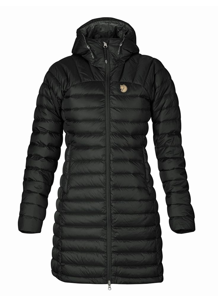 Fjällräven - Snow Flake Parka (Black)   Vuuh.dk