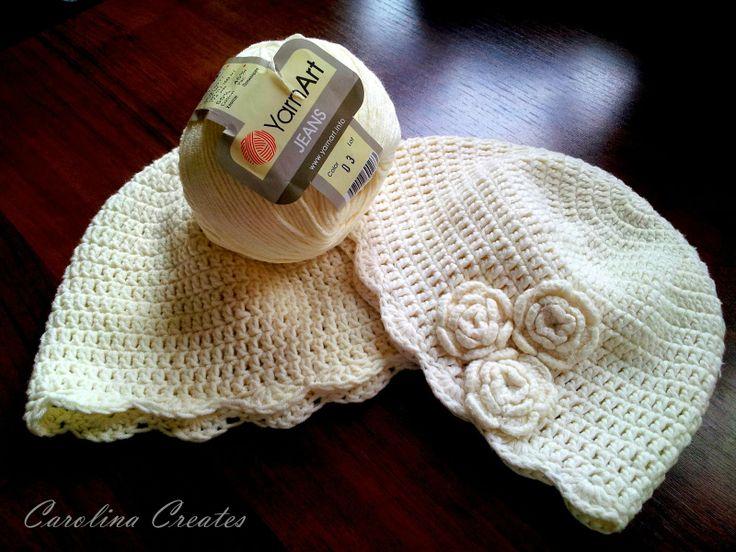 Carolina Creates - Vanilla Beanie for Toddler
