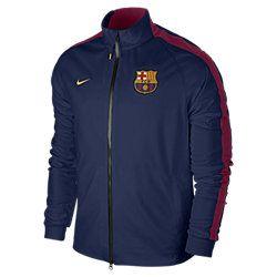 FC Barcelona N98 Anthem Men's Track Jacket. Nike Store UK