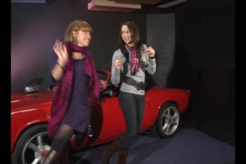 Janine en Ice dans op Infrarooi :-)