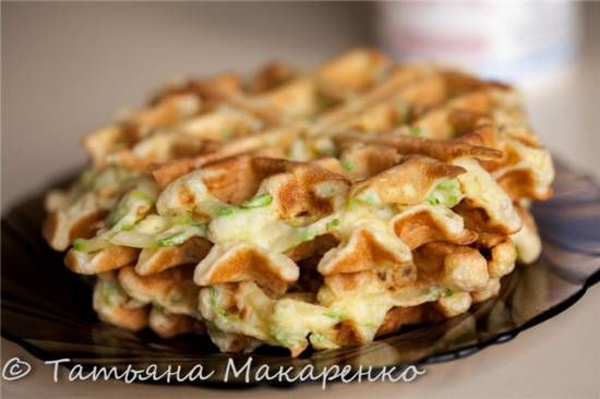 Кабачковые вафли в вафельнице GF-020 Waffle Pro - ХЛЕБОПЕЧКА.РУ - рецепты, отзывы, инструкции