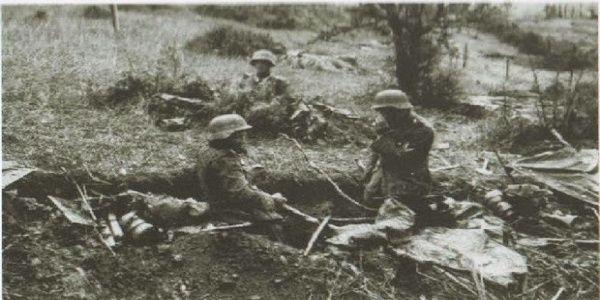 6-9 Απριλίου 1941 η Μάχη στα Οχυρά Ρούπελ