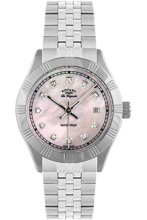 Rotary Ladies Originales Stone Set Watch