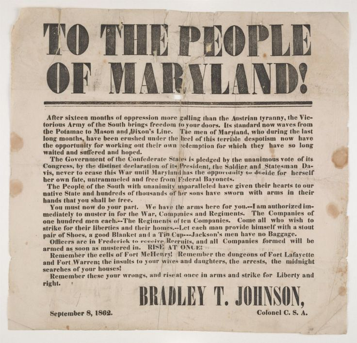 39 best Maryland Confederates images on Pinterest | America civil ...