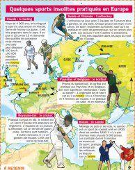 Quelques sports insolites pratiqués en Europe