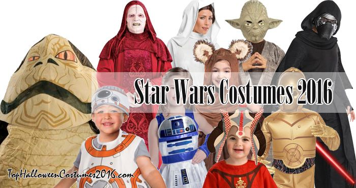 Star Wars Costumes: Wicket/Ewok, C-3PO, Chewbacca, R2D2, Jabba the Hutt, Han Solo, Yoda, X-Wing Fighter Pilot, and more