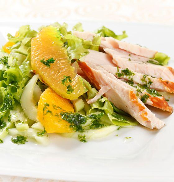 Maxines Burn : Citrus Chicken Salad