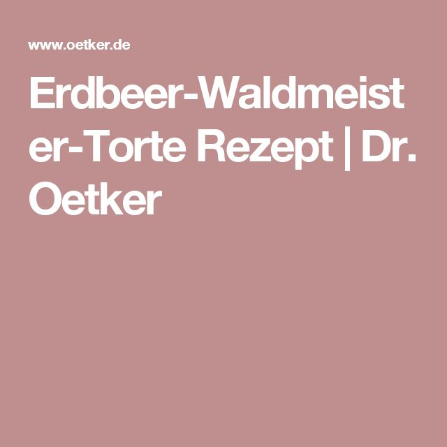 Erdbeer-Waldmeister-Torte Rezept | Dr. Oetker
