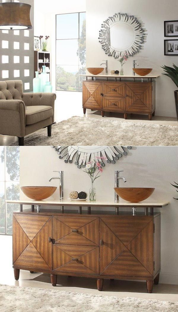 10 Impressive Rustic Diy Sink Vanity Farmhouse Style Rustic