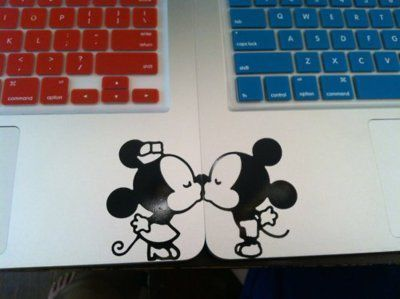 MM+MM: Kiss, Computers, Mickey Mouse, Disney World, Couple Tattoo, Laptops, Decals, Minnie Mouse, Inspiration Pictures