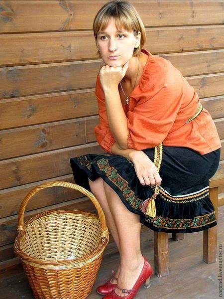 Деревенская юбка