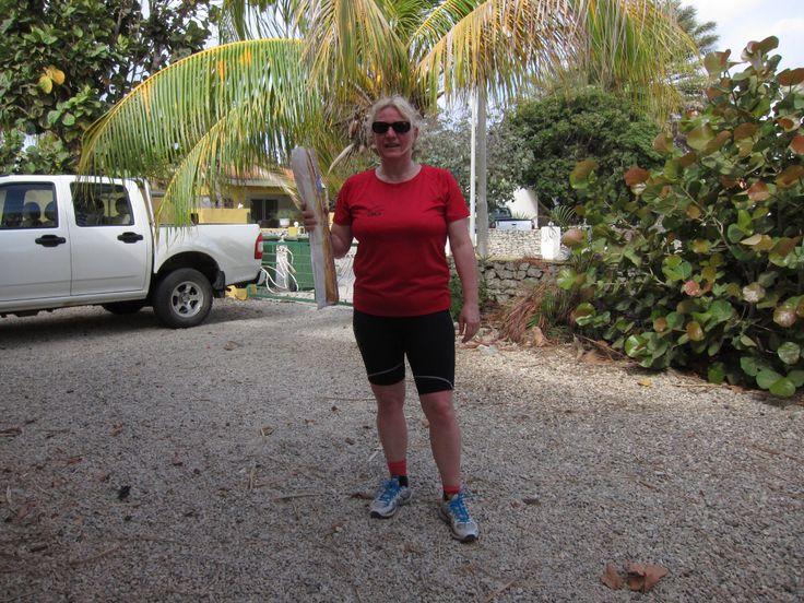 Ga je het écht doen? Je loopspullen meenemen naar Bonaire? Ja, écht waar. Gewoon, drie keer in de week blijven lopen. Anders wordt die Halve van Hoorn niks als we…