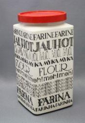 Arabia flour container Esteri Tomula