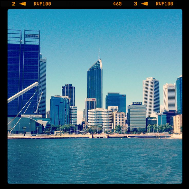 Perth from the Swan; Margaret Hage, iPhone image. fantastic city to visit. so much to do, great food and amazing boutique beers