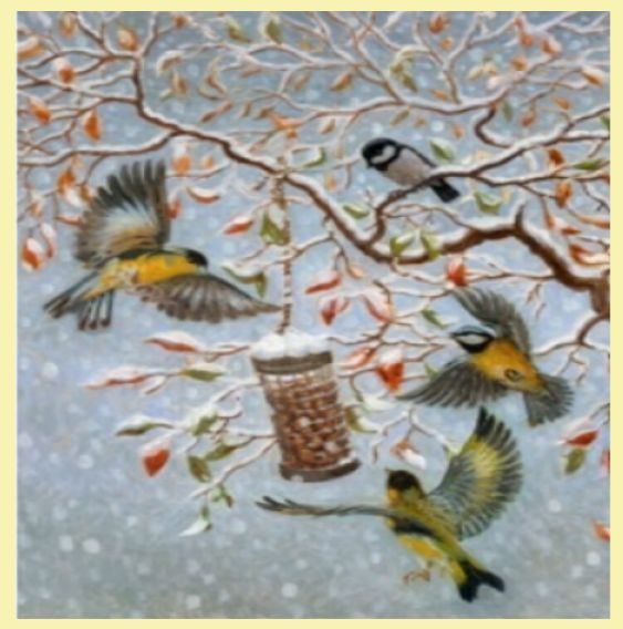 For Everything Genealogy - Breakfast In The Snow Bird Themed Maxi Wooden Jigsaw Puzzle 250 Pieces, $65.00 (http://www.foreverythinggenealogy.com.au/breakfast-in-the-snow-bird-themed-maxi-wooden-jigsaw-puzzle-250-pieces/)